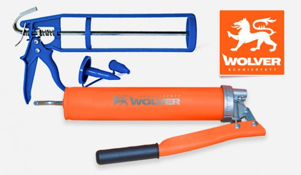 New utensils for Wolver greases.