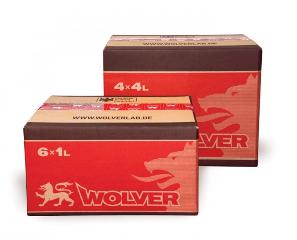 In 2015 Wolver company has changed the design of its cardboard packing.
