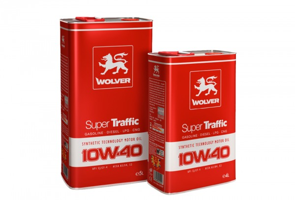 SUPER TRAFFIC 10W-40 - a new universal engine oil WOLVER.